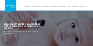 Pronep Life Care relança site com foco do segmento de home care