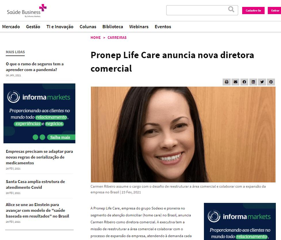 pronep-life-care-anuncia-nova-diretora-comercial