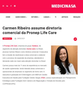 carmen-ribeiro-assume-diretoria-comercial-da-pronep-life-care