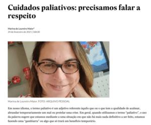 Cuidados paliativos: precisamos falar a respeito
