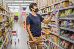 nutrição e compra de alimentos durante a pandemia