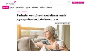 Pacientes com câncer e problemas renais agora podem ser tratados em casa