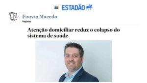 Inserção sobre Atenção Domiciliar no jornal Estadão (SP)