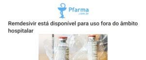 O Remdesivir, antiviral aprovado no Brasil para tratamento de pacientes com Covid-19, está liberado para uso em casa. No entanto, a prescrição deve ser feita por um médico e exige acompanhamento.