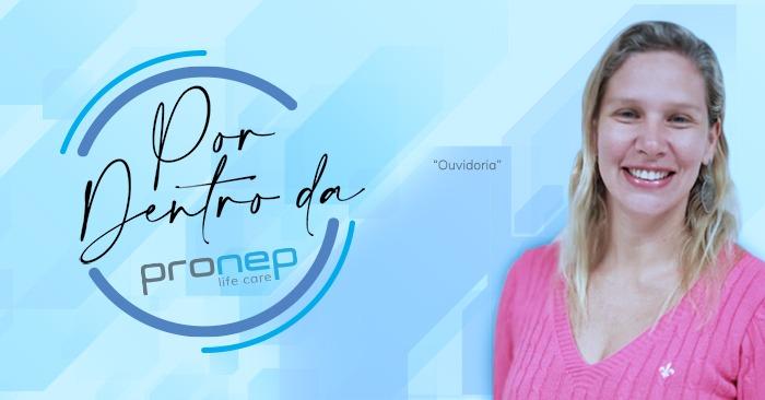 A área de ouvidoria da Pronep é coordenada pela Elem Fonseca